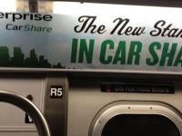 Enterprise advertisement in NYC subway in June 2013.