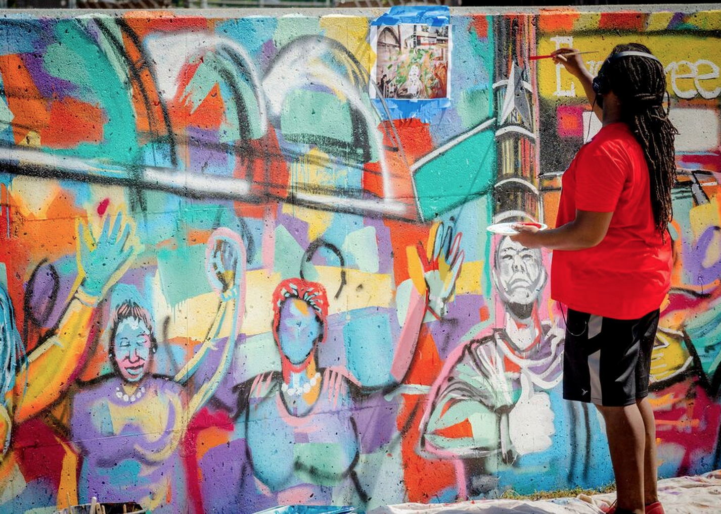 Learn From A Leader How Engage Your Community For Public Art Mural