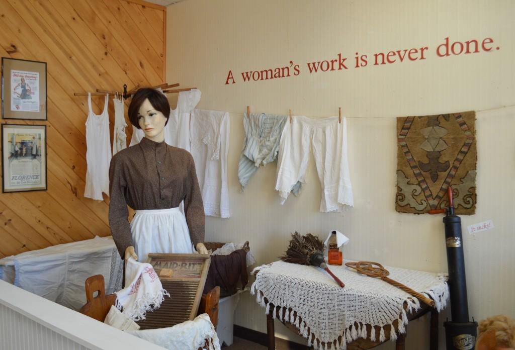 A Women's Work Is Never Done Exhibit Winter 2015-2016