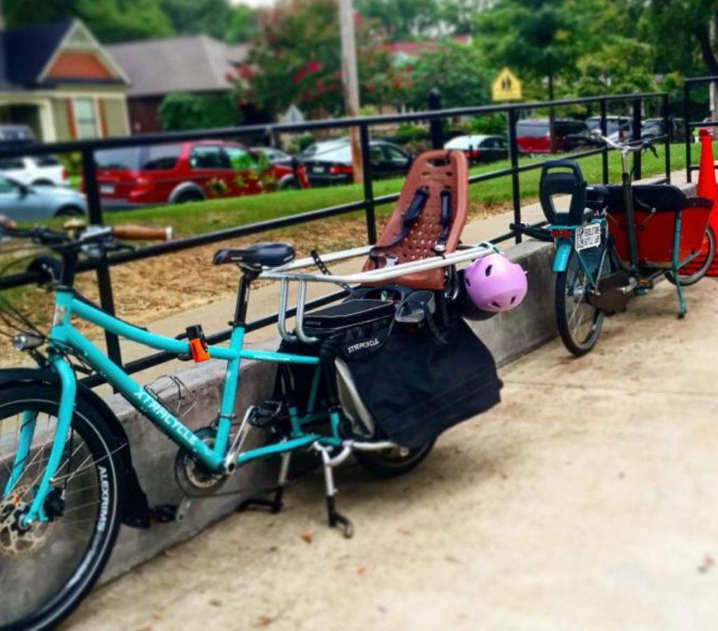 Bikes at Peabody