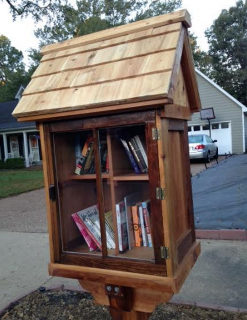small fundraising raise money little free library
