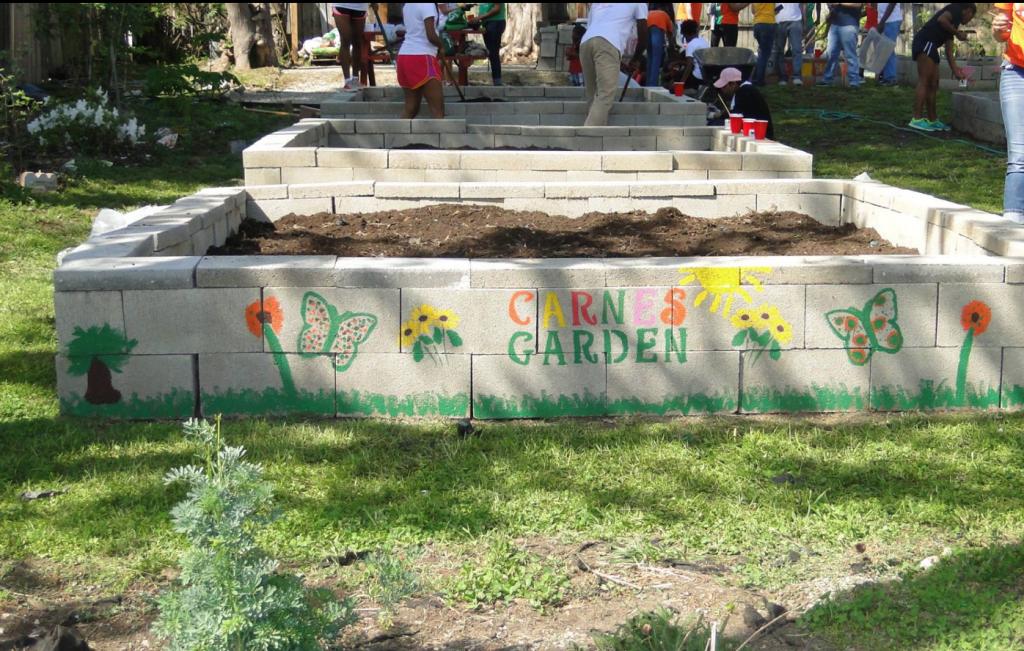 small fundraising raise money community garden memphis