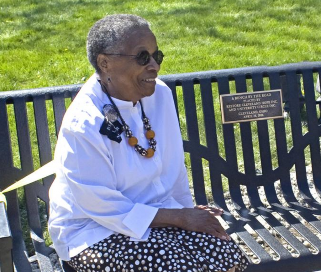 Joan Southgate on Toni Morrison's Bench by the Road