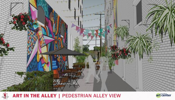 Art In Alley