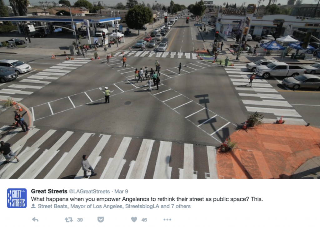 great streets tweet
