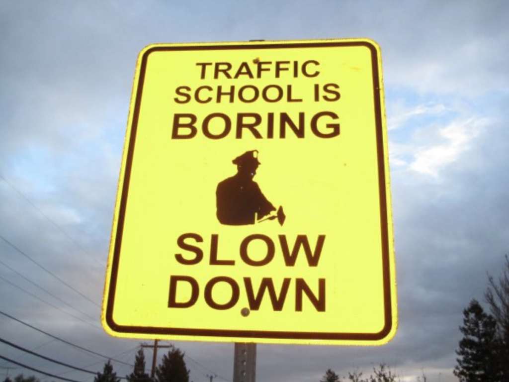 How can I slow down traffic on my street?