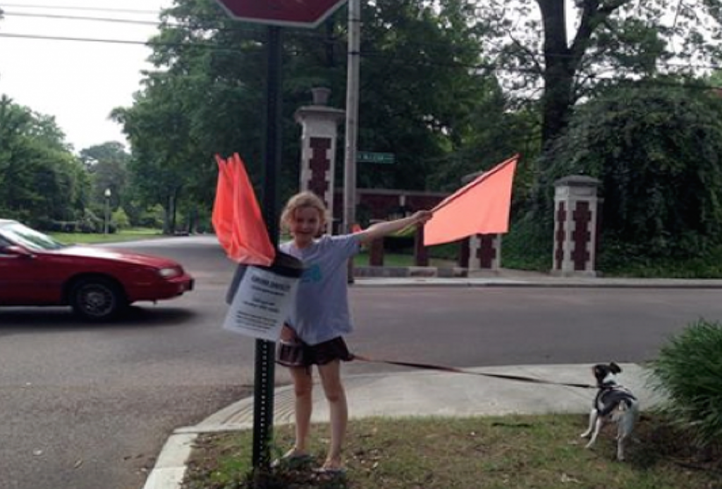 crosswalk flags memphis ioby