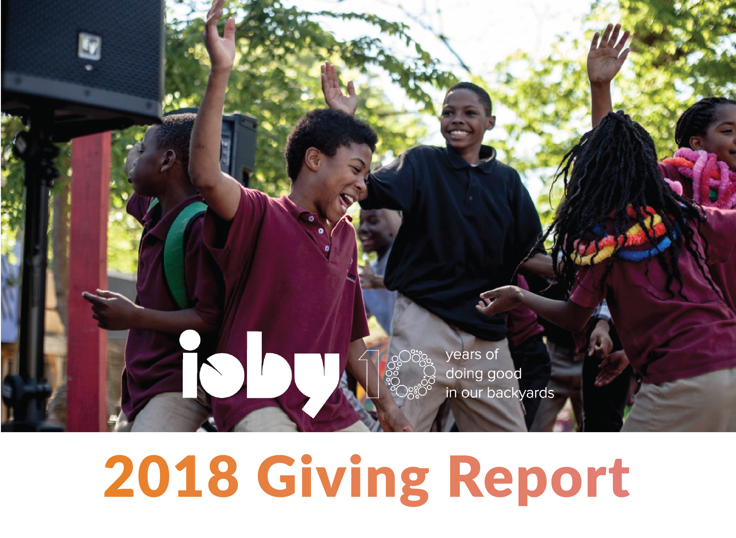 ioby 2018 giving report