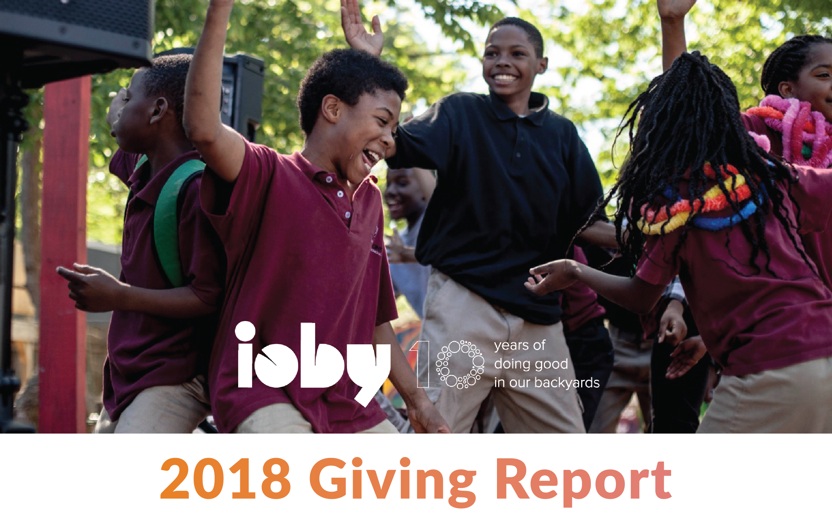 ioby giving report 2018